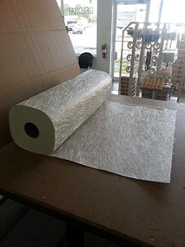 10-yards-fiberglass-chopped-strand-mat-15-oz-x-50-inches-boat-marine-resin