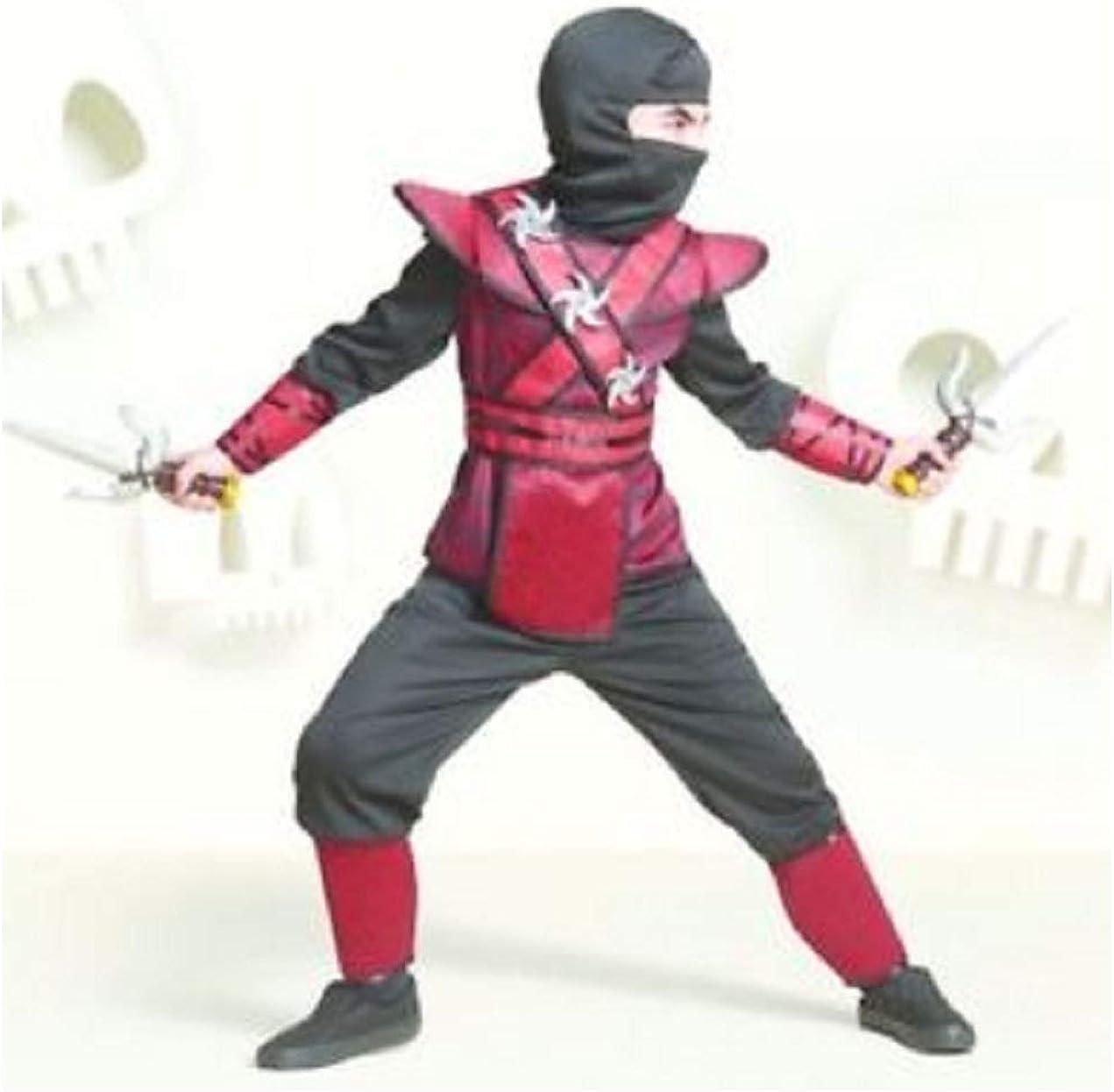 Amazon.com: Hyde & Eek Boutique Regal Red Ninja Boys ...