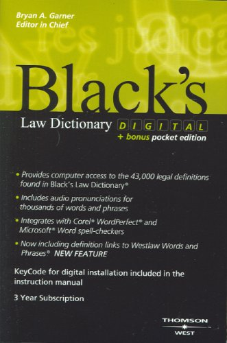Black's Law Dictionary Digital Bundle + Bonus Black's Law Dictionary Pocket 3 ED