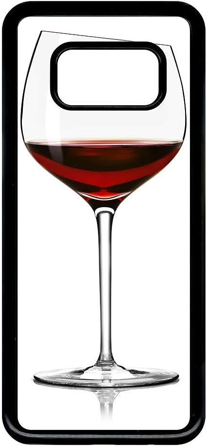 Coque samsung galaxy s8 verre de vin: Amazon.fr: High-tech