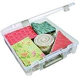 ArtBin Super Satchel 1-Compartment Box- Clear Art Craft Storage Box,6955AB