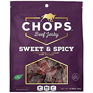Chops Beef Jerky Sweet & Spicy, 2.75 oz