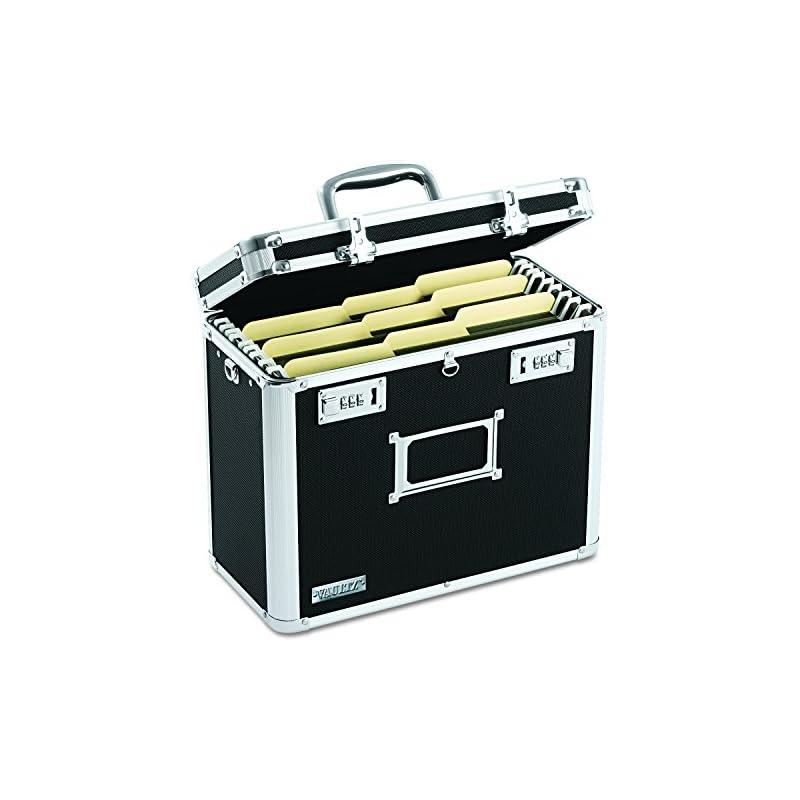 Vaultz Locking File Chest, Letter Size,