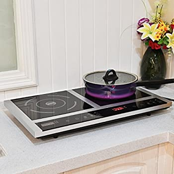Amazon Com Waring Db60 Portable Double Burner Electric
