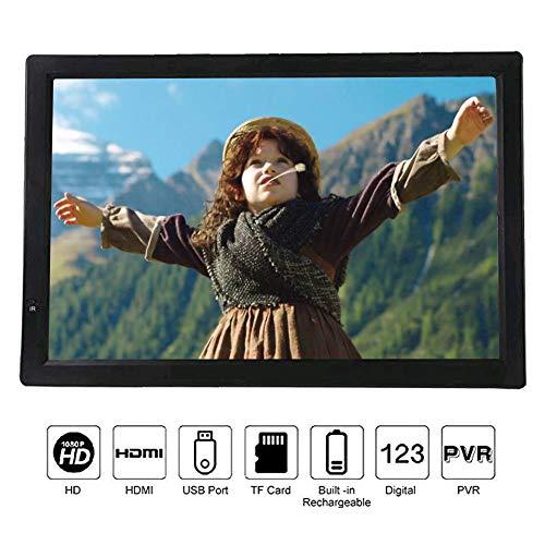 14' Portable HD Digital TV,VBESTLIFE DVB-T-T2 16:9 Digital Analog Television...