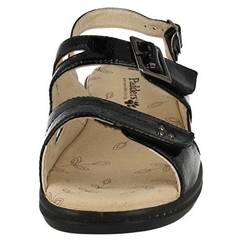 Padders - Zapatos para mujer Black Patent