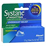 Systane Nighttime Lubricant Eye Ointment-0.123 oz, 3.5g, 2 pack