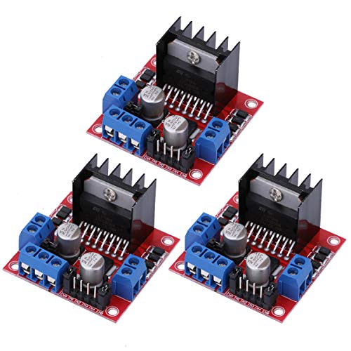 (L298N Stepper Motor Driver Controller Board Dual H Bridge Module for Arduino Electric Projects Electric Projects)