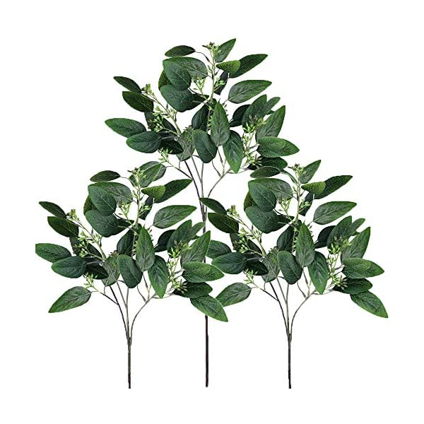 Supla-6-Pcs-Faux-Seeded-Eucalyptus-Leaves-Spray-Fake-Artificial-Eucalyptus-Stems-Bulk-in-Green-25-Tall-for-Eucalyptus-Wreaths-Garland-Bouquet-Floral-Arrangements-Holiday-Greens-Christmas-Greenery