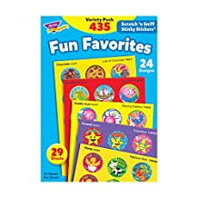 Trend T6491 Trend Stinky Stickers Variety Pack, Fun & Fancy, 432/pack
