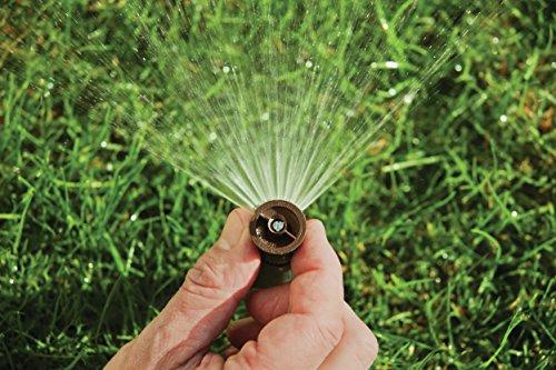 Rain Bird 1804HEVN15 High Efficiency Professional Pop-Up Sprinkler, Adjustable 0° - 360° Pattern, 8' - 15' Spray Distance, 4