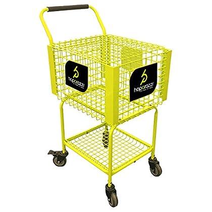 Image of HOPARAZZI Teaching Cart Premier 350 Teaching Cart, Electric Green, 350 Balls Ball Hoppers