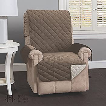 Amazon Com Recliner Chair Cover One Piece W Armrests And