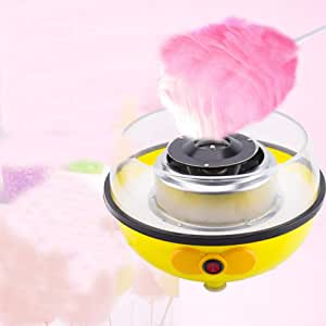 LCZ Máquina de algodón de azúcar máquina de algodón de azúcar Rosa 450W para la máquina de algodón de azúcar máquina de casa de Bricolaje Mini Caramelo Inicio: Amazon.es: Deportes y aire