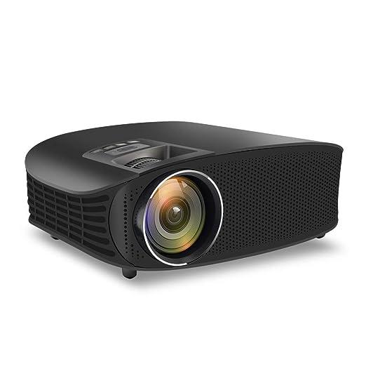 Juonjee Proyectores proyector de Alta definición de vídeo Lumen ...