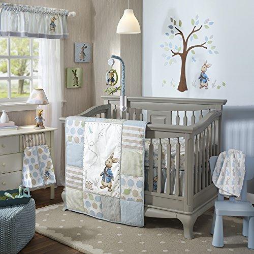 Lambs & Ivy Peter Rabbit Crib Set, 4 Count