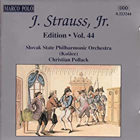 Amazon.com: Strauss II, J.: Edition - Vol. 44: Slovak