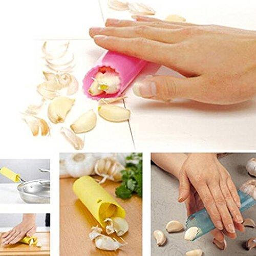 Creative Silicone Peeling Garlic Peeler Helper Useful Kitchen Tool Gadgets zsjhtc