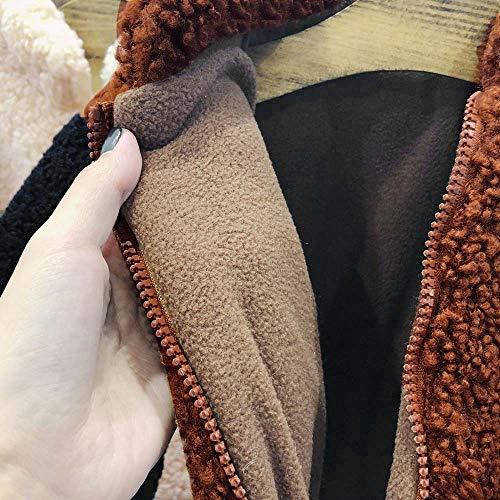 Xmiral Bebé Niños Chaquetas de Polar Abrigos Fleece Trajes Cálidos Cazadora Piel Efecto Acampada Suave Cómodo(Café, 2-3 años): Amazon.es: Ropa y accesorios