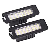 seat leon - Paision 24-smd Error Free LED Number License Plate Lights for Vw Passat Polo Golf4/5/6 GTI Cc EOS Phaeton Seat Leon Altea Porsche Boxster Cayman Carrera Cayenne 987/997/958
