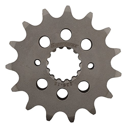 Supersprox CST-736-15-2 Front Sprocket For Ducati Monster 620 Capirex 04, Monster 620 Dark 02 03 04 05 06, Monster 620 Matrix 04, 695 Monster 07 08, 696 Monster 08 09 10 11 12 13 14