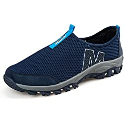 Emmarr Men's and Women's Lightweight Mesh Slip-on Water Shoes Casual Beach Shoes Climbing Wading Shoes