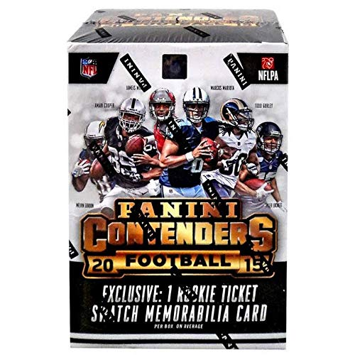 2015 Panini NFL Contenders Football Factory Sealed Blaster Box