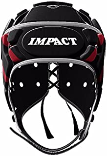 Impact France - CASQUE RUGBY IMPACT CLASSIC VEE BLACK - taille : L