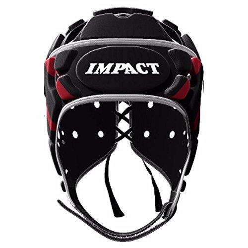Impacto - Casque Rugby impacto Classic Vee - Cable Negro, color negro, tamaño S: Amazon.es: Deportes y aire libre