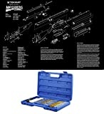 Ultimate Arms Gear Mossberg 500/505/535/590/835 Schematics Poster + 38pc Cleaning Kit Gun Tube Chamber Barrel Care Steel / Nylon / Brass Brush Set
