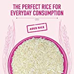 INDIA GATE Feast Rozanna Aged Basmati Rice | Everyday Rice, 5 Kg Pack