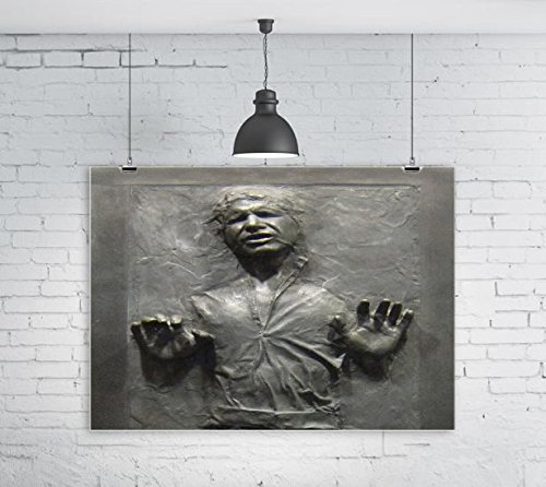 Cool Carbonite Print 16x20 Glossy Poster