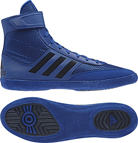 adidas Combat Speed 5 Men's Wrestling Shoes, Royal/Dark Royal, Size 10