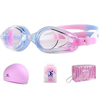 JI Bin Shop® Lunettes De Natation Big Box Miroir d eau Femelle Myopie  Lunettes 13d36c10acb4