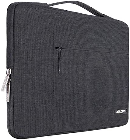 MOSISO Laptop Sleeve Compatible with 13-13.3 inch MacBook Air, MacBook Pro, Notebook Computer, Polyester Multifunctional Briefcase Bag, Space Gray