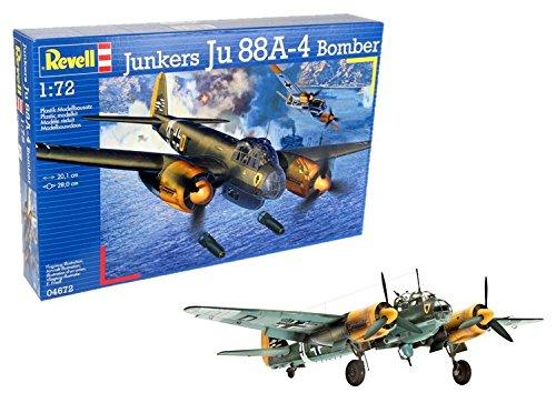Revell 04672 Junkers Ju 88A-4 Bomber Model Kit 80-4672