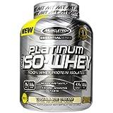 MuscleTech Essential Series 100% Platinum Iso-Whey Vanilla Ice Cream - 3.34 lbs