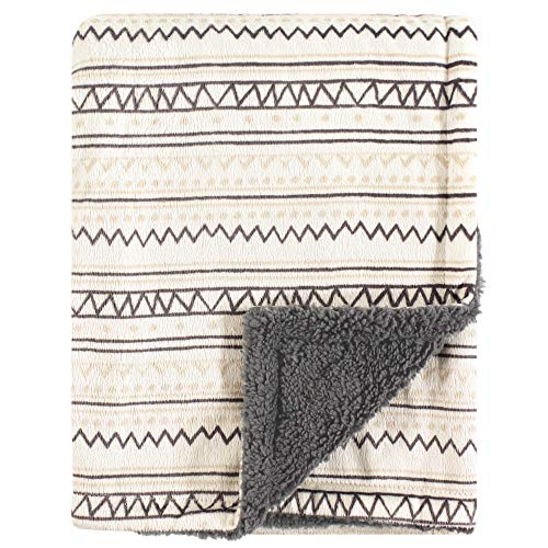 Hudson Baby Double Layer Blanket, Aztec]()