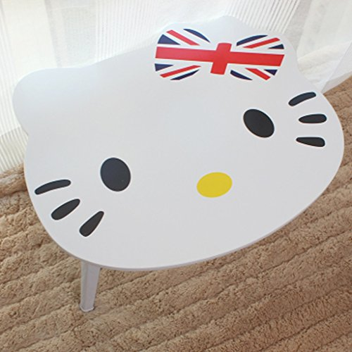 - Laptop Tray Table Rack Laptop Table Portable (Color : Rice bear)