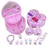 Kerr's Choice ❤Peppa Pig Toys Gifts❤ Peppa Pig Jewelry Box (with 10 Bonus Super Cute Hard Hat Stickers)