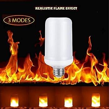 Topled Light Led Flame Bulbs E26 Standard Base Flickering