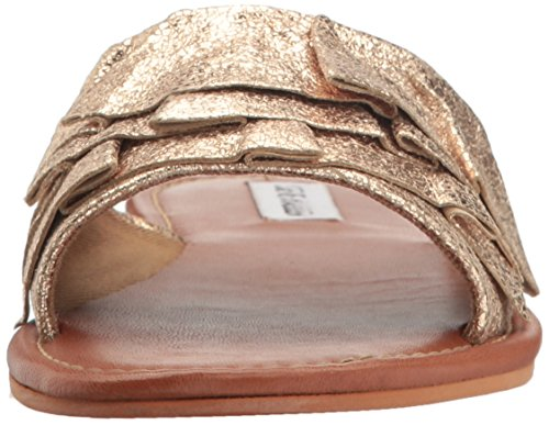 Steve Madden Women's Getdown Flat Sandal Dusty Gold dEf3BLT