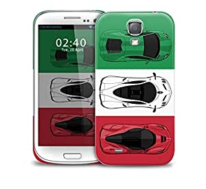 Italian Super Cars Samsung Galaxy S4 GS4 protective phone case