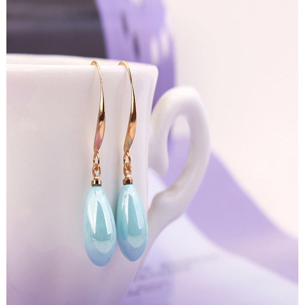 Aibei Sweet delicate pearl Drop Earrings Long Stud Earing Wedding Wholesale Jewelry