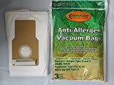 15 Kenmore Upright Allergen Filtration Cloth Vacuum Cleaner Bags...