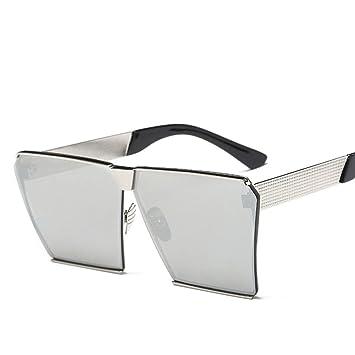 XYLUCKY Moda polarizado Gafas de Sol cuadradas Grandes, b ...