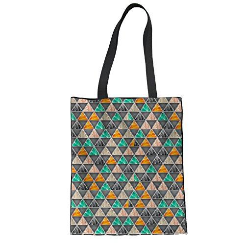 for Bag CHAQLIN Shoulder Shopper Girls Tote Women Shopping Canvas multi Groceries Womens 17 Storage ctq4IA