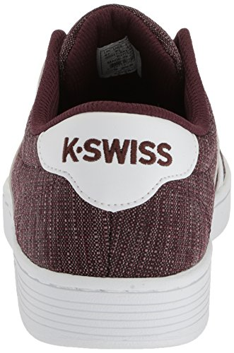 discount looking for K-Swiss Men's Court Pro Ii T CMF Sneaker Rasin/White cheapest price cheap online excellent BJcnh5AWQF