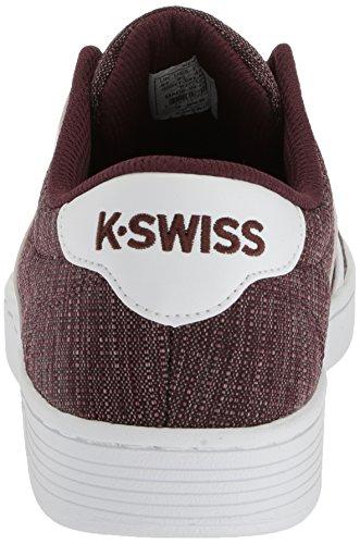 K-Swiss Men's Court Pro II T CMF Sneaker, Castler Rasin/White