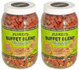 Flukers 1 Piece Adult Bearded Dragon Veggie Variety Diet, 4.5 ounces